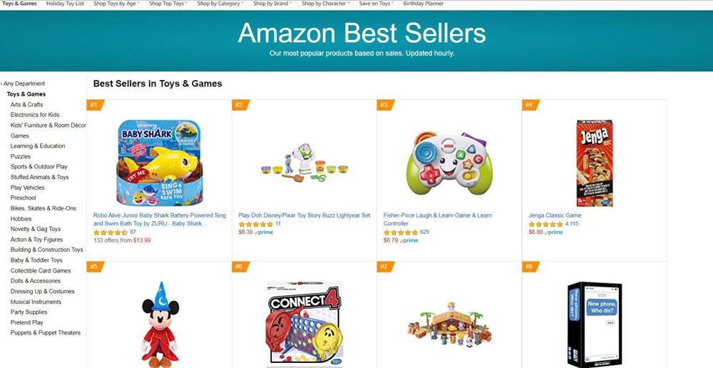 Amazon best seller สินค้าขายดี Amazon ขาย Amazon